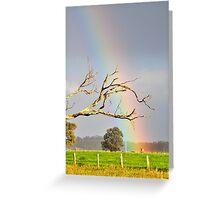 Heart of the Rainbow Greeting Card