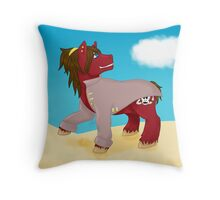 Silver Timbers Throw Pillow