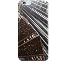 Grid Stairs (1) iPhone Case/Skin