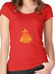 Chubby Torchic  Women's Fitted Scoop T-Shirt