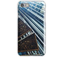 Grid Stairs (2) iPhone Case/Skin