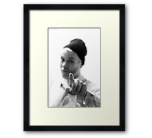"""What!"" Framed Print"