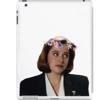 Flower Crown Scully iPad Case/Skin