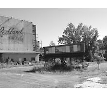 an old drive in Photographic Print