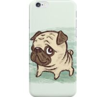 Pug puppy iPhone Case/Skin