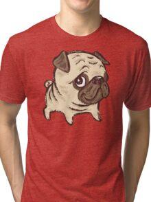 Pug puppy Tri-blend T-Shirt