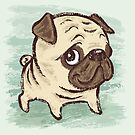 Pug puppy by Toru Sanogawa