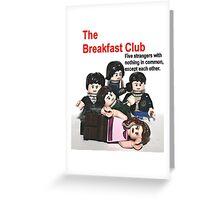 Lego The Breakfast Club Greeting Card