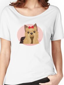 Yorkshire Terrier Women's Relaxed Fit T-Shirt