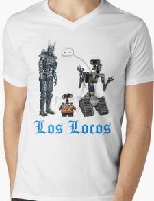 Los Locos Mens V-Neck T-Shirt