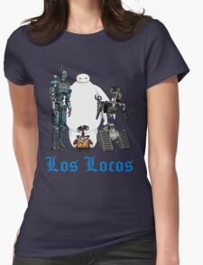 Los Locos Womens Fitted T-Shirt