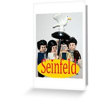 Lego Seinfeld Greeting Card