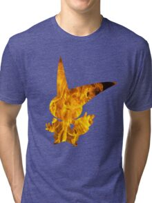 Victini used overheat Tri-blend T-Shirt