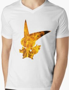 Victini used overheat Mens V-Neck T-Shirt