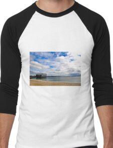 Busselton Jetty  Men's Baseball ¾ T-Shirt