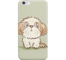 Shih Tzu puppy iPhone Case/Skin