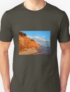 The Red Cliffs of Sidmouth Unisex T-Shirt