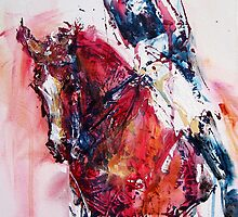 Dressage No.3 by Nina Smart