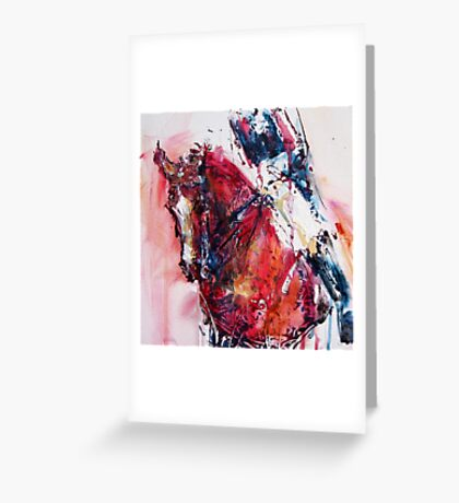Dressage No.3 Greeting Card