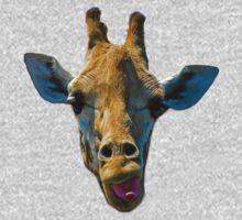 Giraffe Gaffe One Piece - Short Sleeve