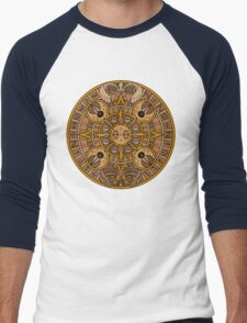 Pokemon Mayan Calendar Men's Baseball ¾ T-Shirt
