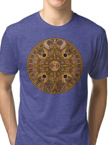 Pokemon Mayan Calendar Tri-blend T-Shirt