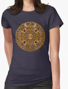 Pokemon Mayan Calendar Womens Fitted T-Shirt