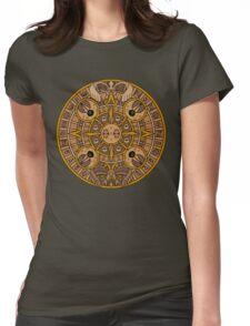 Pokemon Mayan Calendar Womens Fitted T-Shirt