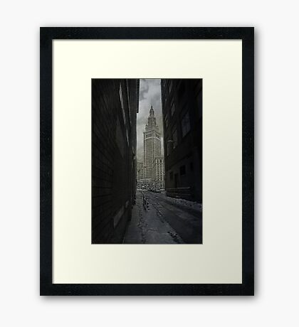 Feeling Squeezed Framed Print