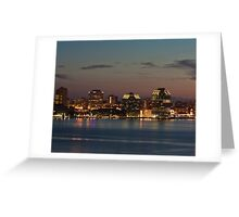 Halifax Skyline Greeting Card