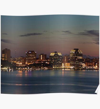 Halifax Skyline Poster