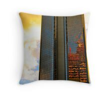Brisbane aglow.... Throw Pillow