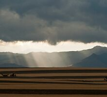 Summer Storm On The Colorado Plains by Gregory J Summers