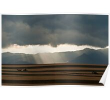 Summer Storm On The Colorado Plains Poster