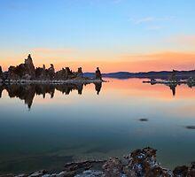 Mono Lake Sunset by Ann  Van Breemen