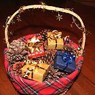 Christmas Basket by DebbieCHayes