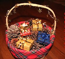 Christmas Basket by DebbieCHayes