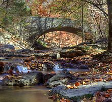 Old Stone Bridge by Jeff VanDyke
