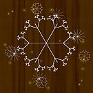 christmas card by vampvamp