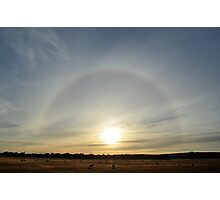Sunrise Halo Photographic Print
