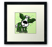 Kid Goat Green  Framed Print