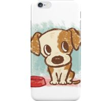 Sitting puppy iPhone Case/Skin