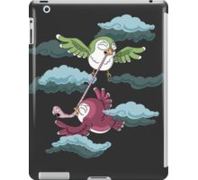 The eternal struggle iPad Case/Skin