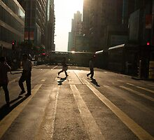 Hong Kong street view by hkavmode