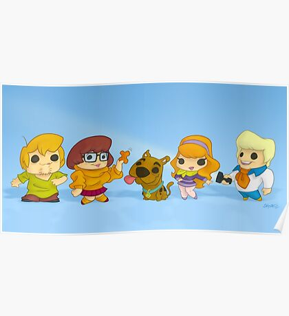 Scooby Doo Gang Poster