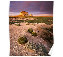 Pawnee Buttes Sunset Poster