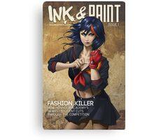 Ink & Paint 1: KLK Canvas Print