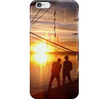 Light on the thugs iPhone Case/Skin