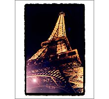 Paris by Night Photographic Print