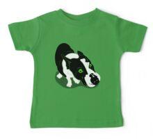 Mr Bull Terrier Green Baby Tee